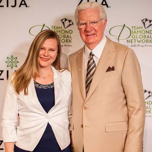 Elena Varnavska with Bob Proctor